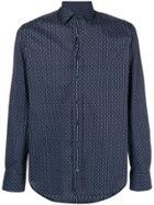 Etro Printed Classic Shirt - Blue