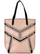 Diesel - Studded Tote - Women - Leather - One Size, Pink/purple, Leather