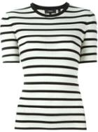 Theory Striped Knit Top