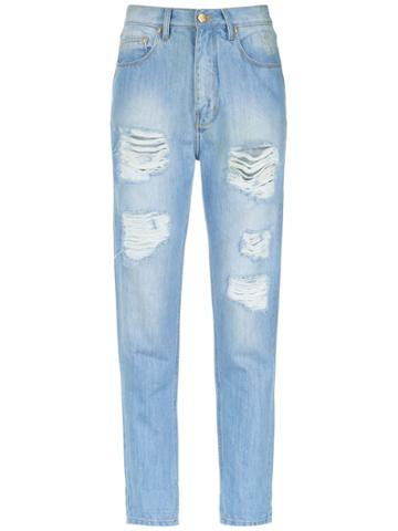 Amapô Boyfriend Jeans - Blue
