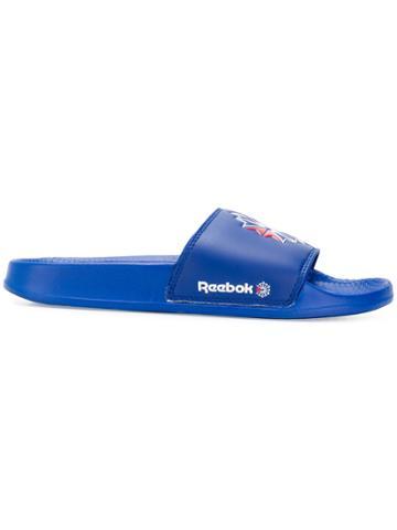 Reebok Logo Slides - Blue