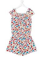 Moschino Kids Printed Playsuit - Unavailable