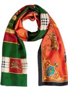 Burberry Archive Scarf Print Silk Scarf - Multicolour