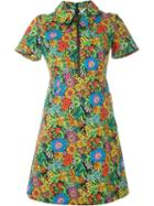 Manoush Floral Print Zip Dress