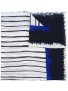 Faliero Sarti Lina Scarf, Men's, White, Cotton