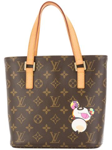 Louis Vuitton Vintage Vavin Pm Tote Bag - Brown