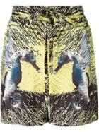 La Perla Seahorse Print Swim Shorts