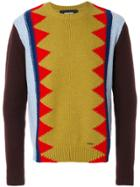 Dsquared2 Jacquard Knit Jumper - Multicolour