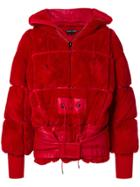 Tom Ford Puffer Coat - Red
