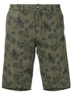 Altea Floral Print Bermuda Shorts - Green