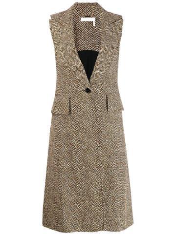 Chloé Sleeveless Coat - Brown