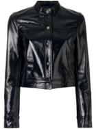 Theory Cropped Jacket - Black