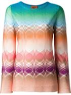 Missoni Patterned Knit Longsleeved Top