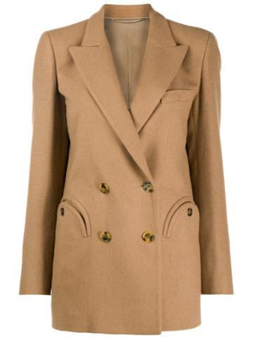 Blazé Milano Classic Double-breasted Blazer - Neutrals