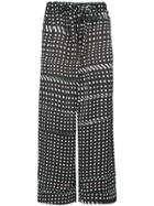 Facetasm Dotted Trousers - Black