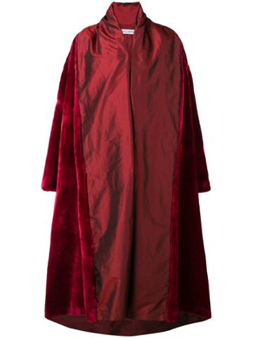 Dolce & Gabbana Vintage 1990 Oversized Coat - Red