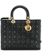 Christian Dior Vintage Lady Dior Bag - Black