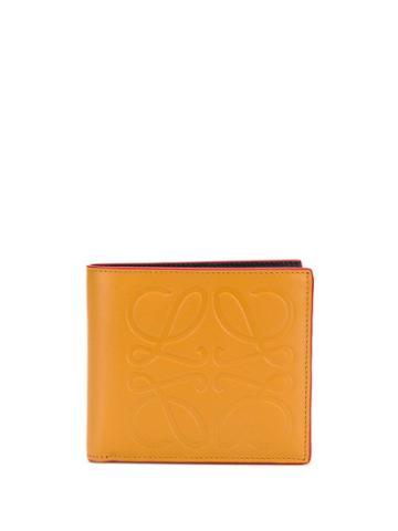 Loewe Embossed Logo Stamp Wallet - Brown
