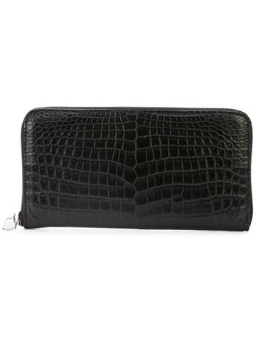 Eyefunny Zip Around Wallet - Black