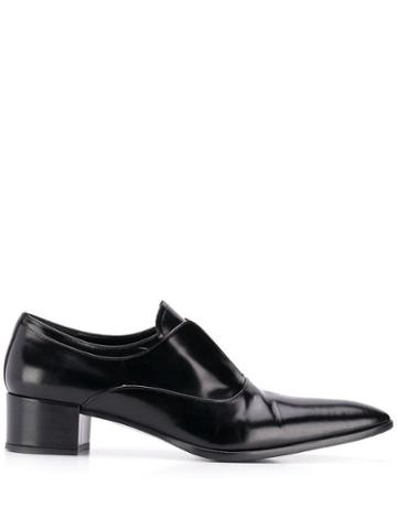 Prada Pre-owned 2000's Pointed Toe Loafers - Black
