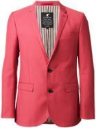 Loveless Two Button Blazer - Red