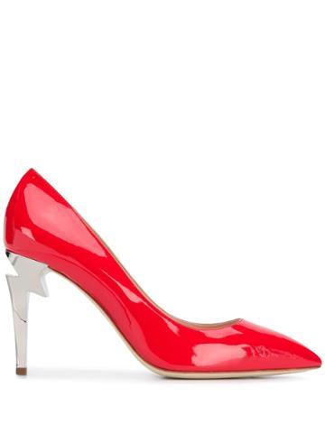 Giuseppe Zanotti G-heel Pumps - Red