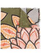 Hemisphere Floral Print Scarf - Multicolour