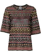 Missoni Printed Top - Black