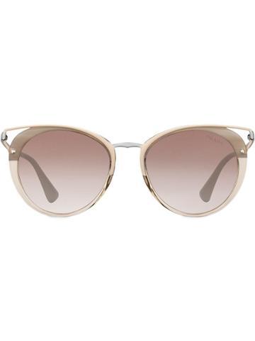 Prada Eyewear Prada Cinéma Eyewear - Metallic
