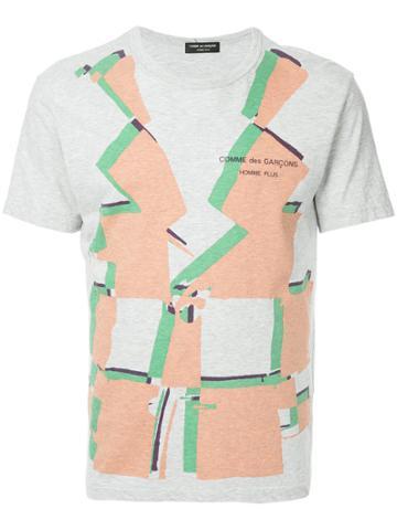 Comme Des Garçons Vintage Art Print T-shirt - Grey