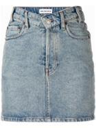 Balenciaga V-neck Mini Skirt - Blue