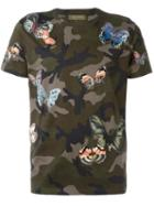 Valentino Butterfly Stitched T-shirt