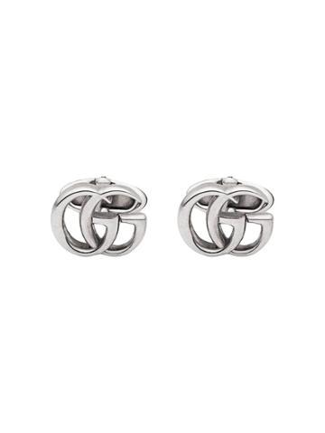 Gucci Double G Cufflinks - Silver