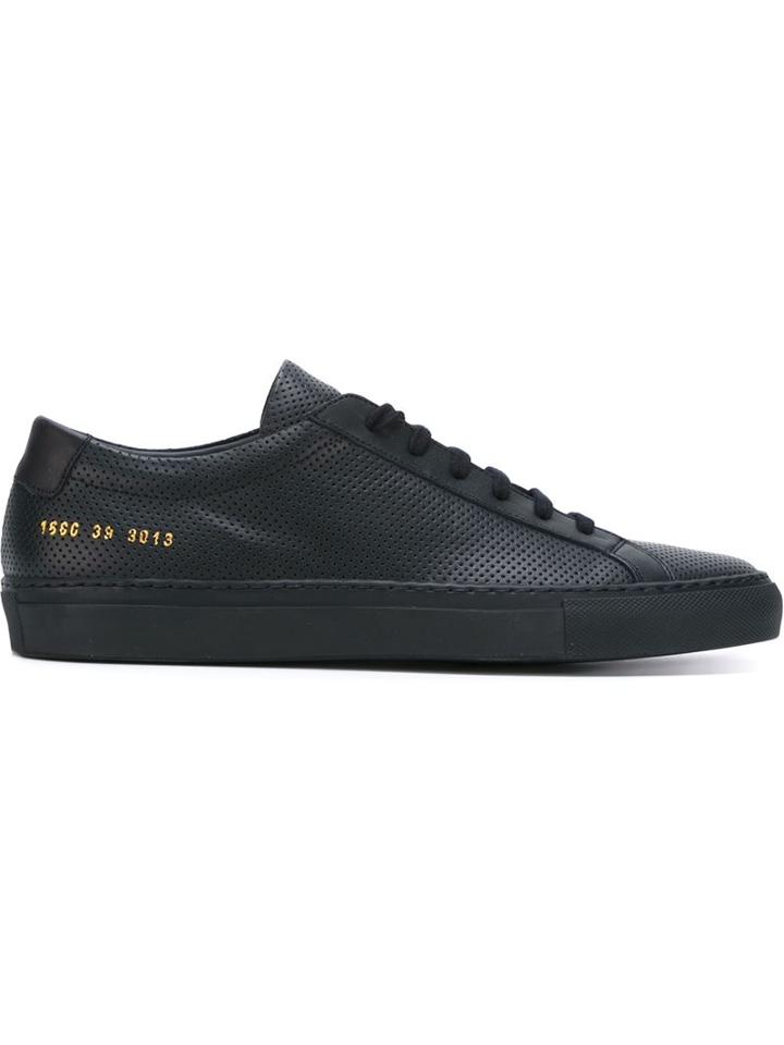 Common Projects 'achilles Low Perforated' Sneakers