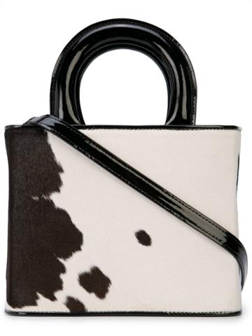 Staud Cow Tote - Black