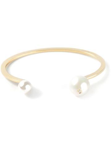 Delfina Delettrez Double Pearl Bracelet