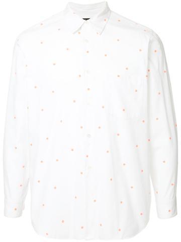 Comme Des Garçons Vintage Scattered Spots Shirt - White