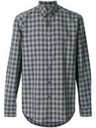 Etro Checked Shirt - Grey
