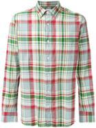 Aspesi Check Shirt - Multicolour