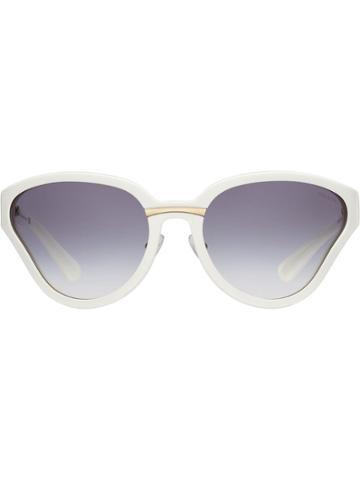 Prada Prada Maquillage Sunglasses - White