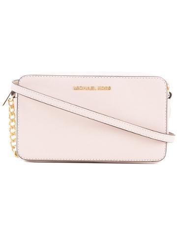 Michael Michael Kors - Chain-strap Cross-body Bag - Women - Calf Leather - One Size, Pink/purple, Calf Leather