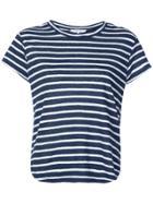 Frame Denim Striped T-shirt - Blue