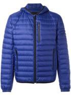 Prada Quilted Hooded Jacket - Blue