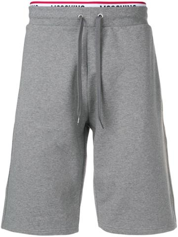 Moschino Jersey Shorts - Grey