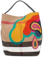 Burberry Md Ashby Tote - Multicolour