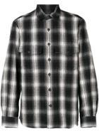 Marcelo Burlon County Of Milan Checkered Shirt - Black