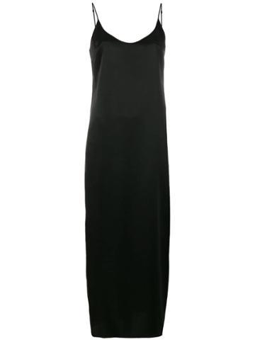 La Perla Long Length Slip - Black