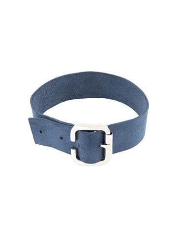 Manokhi Buckled Collar, Women's, Blue