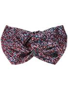 Maison Michel Knot Detail Headband - Multicolour