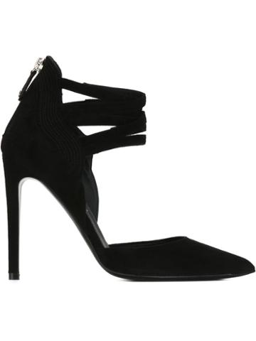 Ballin Ankle Straps Stiletto Pumps